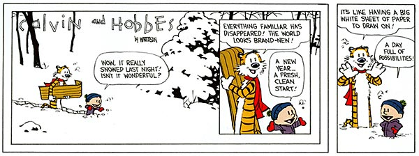 Calvin & Hobbes #1